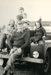 Kershaw Family with their recovery vehicle
